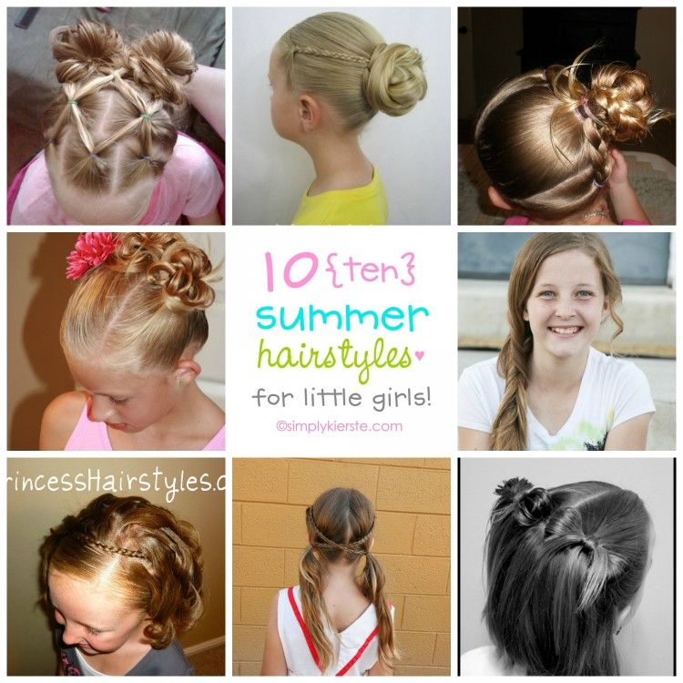 10 Fun Summer Hairstyles For Little Girls Oldsaltfarm Com Hair Styles Easy Little Girl Hairstyles Summer Hairstyles