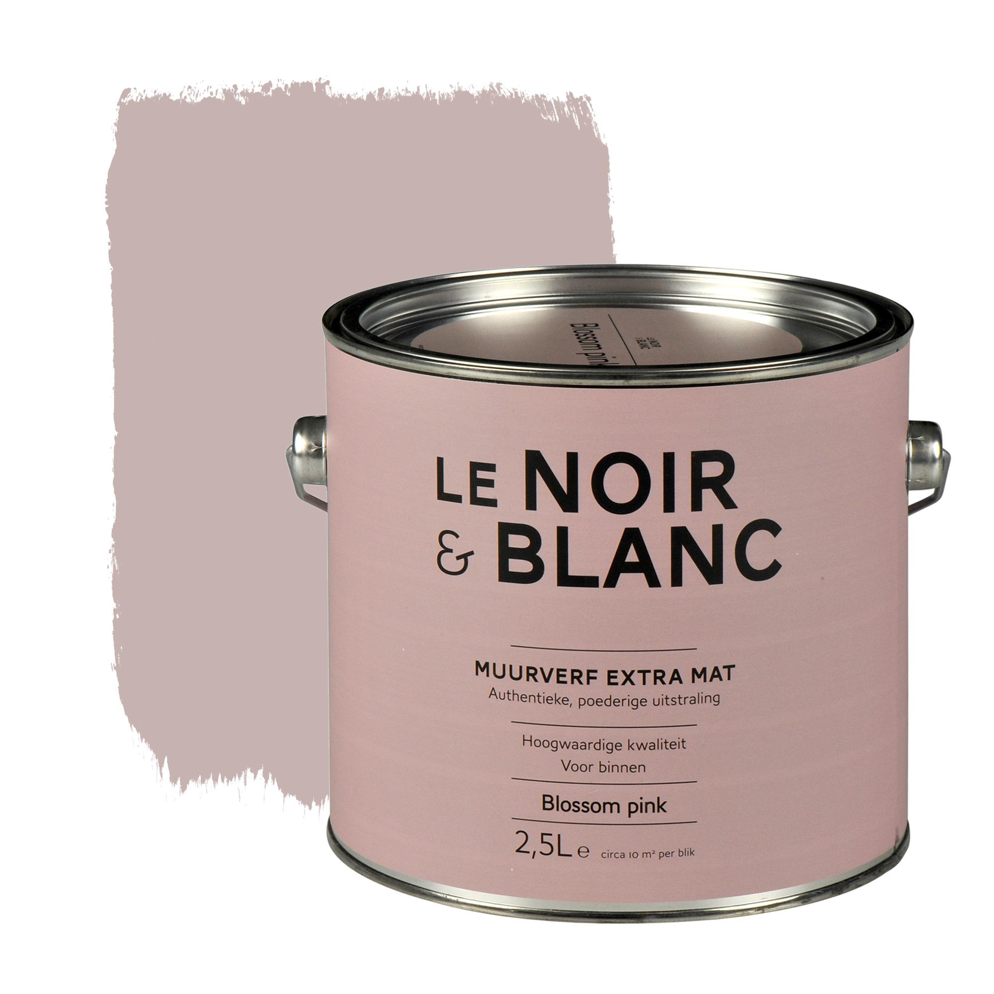 Photo of Le Noir & Blanc muurverf extra mat blossem pink 2,5 l kopen?  muurverf-kleur | Karwei