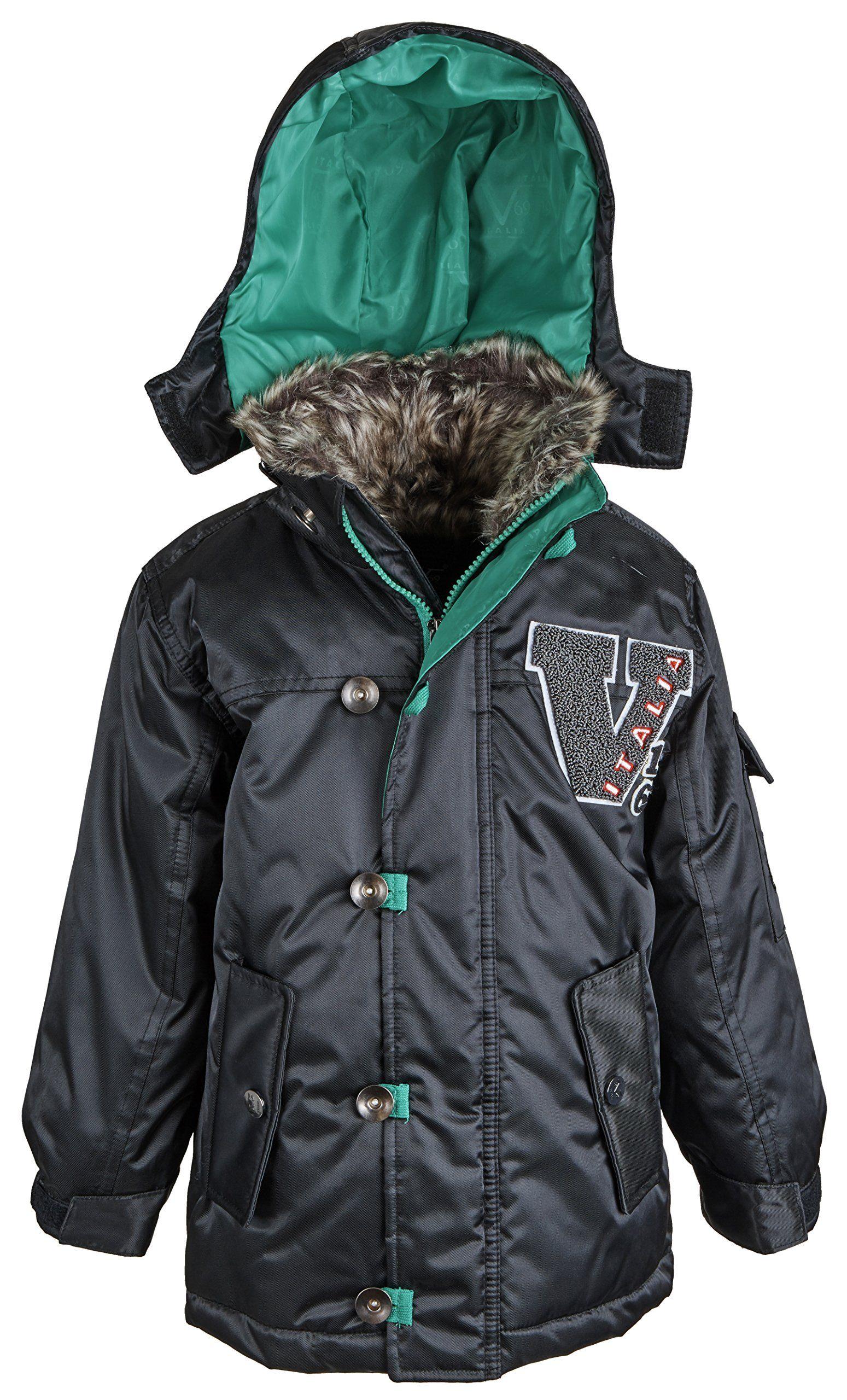 474729e9ff69 Versace 19.69 Big Boys Down Blend Warm Winter Puffer Jacket Coat ...