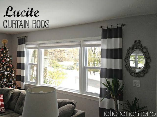 Small Curtain Rods Window Short Curtains Windows For