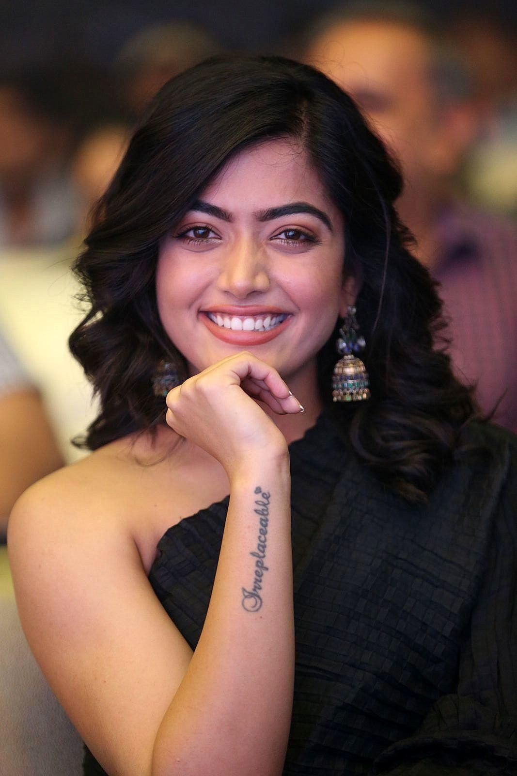 Rashmika Mandanna Photos Devadas Audio Launch 8 Most Beautiful