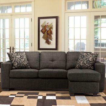 Costco Bronson II Fabric Sofa with Chaise : fabric sofa with chaise - Sectionals, Sofas & Couches