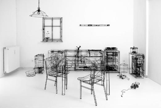 Thomas Raschke – Wire Frames | Art | Pinterest | Art installation ...
