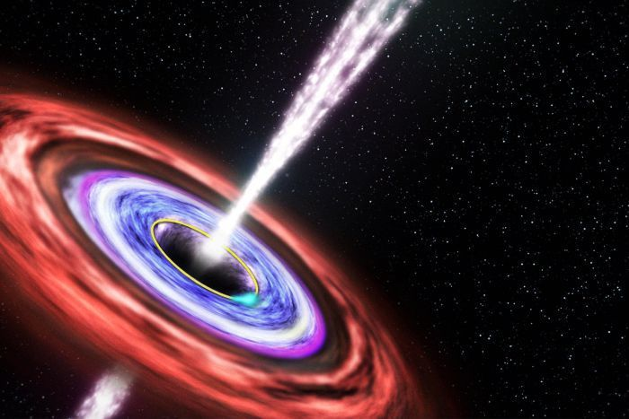 Astronomers detect cries of a dying star - For the first time astronomers have detected the last gasps of a star being torn apart by a previously dormant giant black hole.