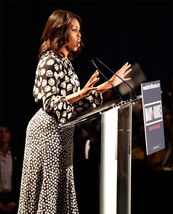 Michelle Obama's Best Looks Ever - 2014 - Diane von Furstenberg  - from InStyle.com