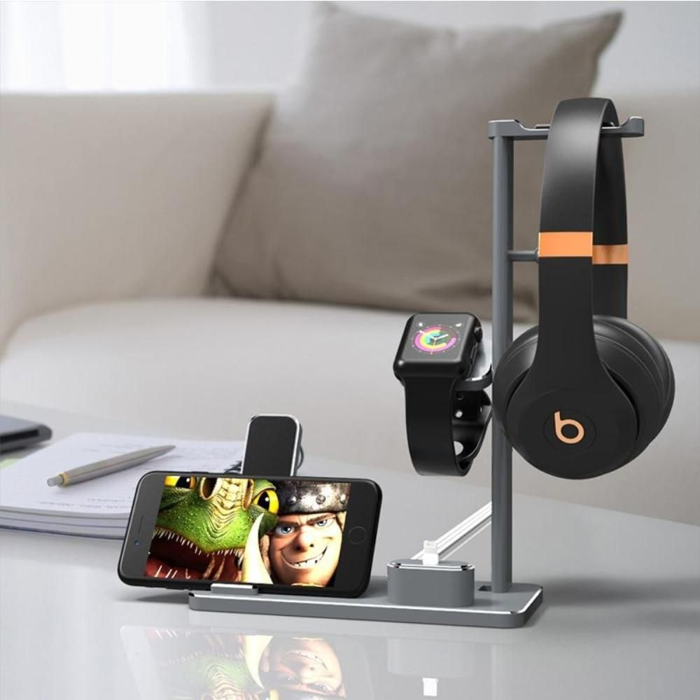 4 in 1 charging stand for apple watch for airpods wireless