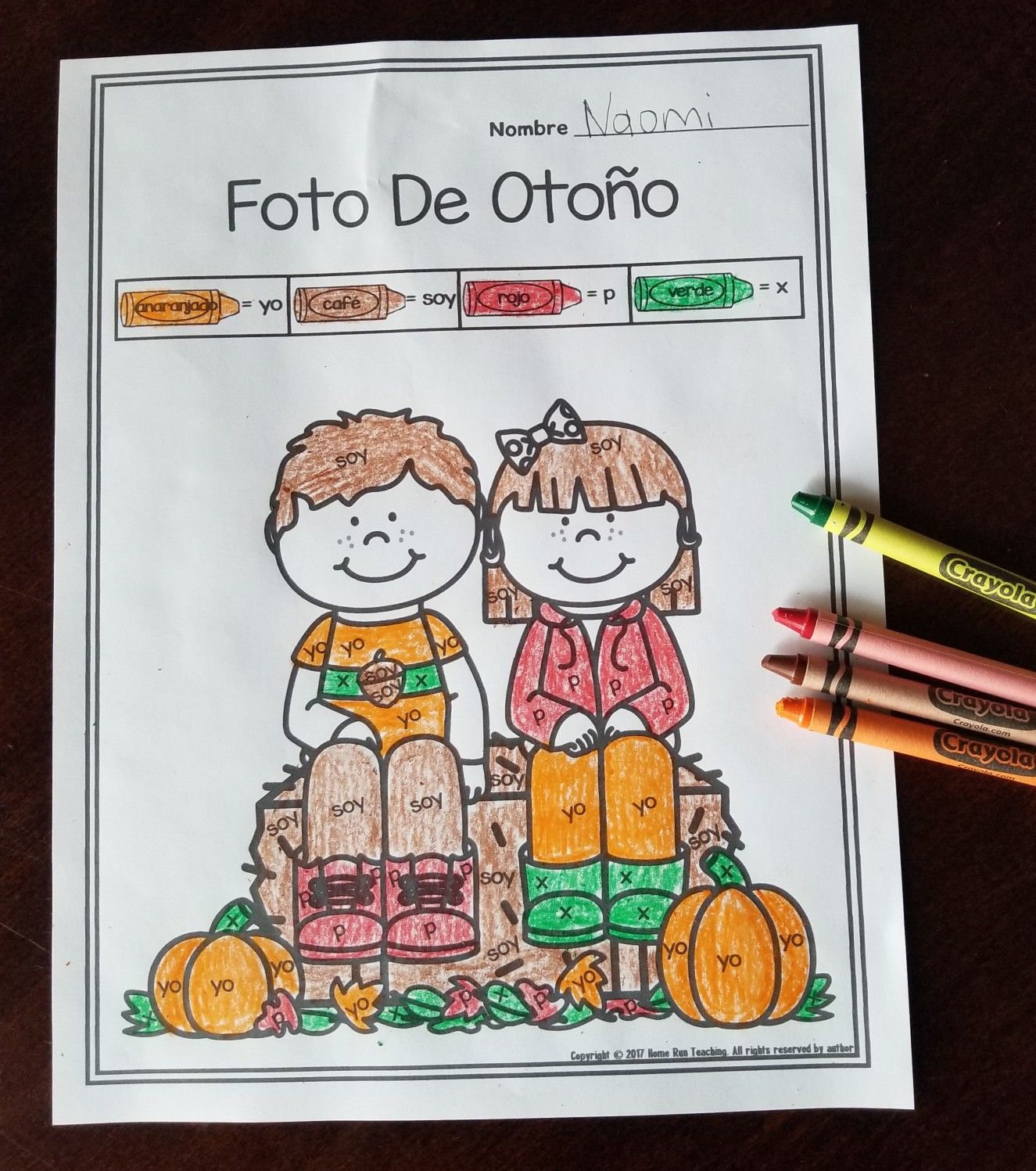 Octubre October Math Literacy And Craft Packet In