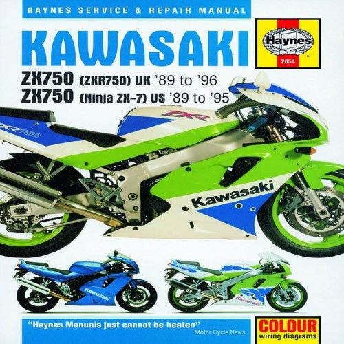 Kawasaki Zx750 Ninjas 2x7 And Zxr 750 Repair Manuals Kawasaki Repair