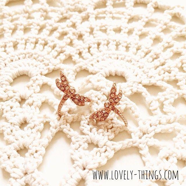 Libellen Ohrstecker ♡ Dragonfly Earrings // www.lovely-things.com #lovelythingscom