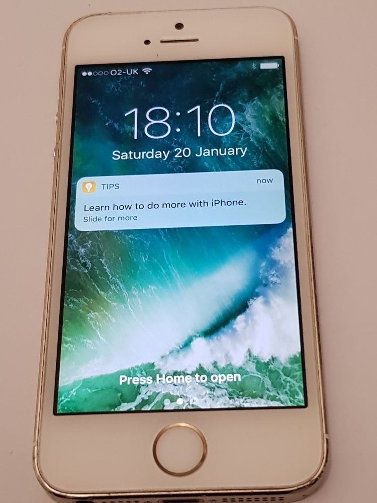 Apple Iphone 5s 16gb Gold Unlocked Smartphone In 2019