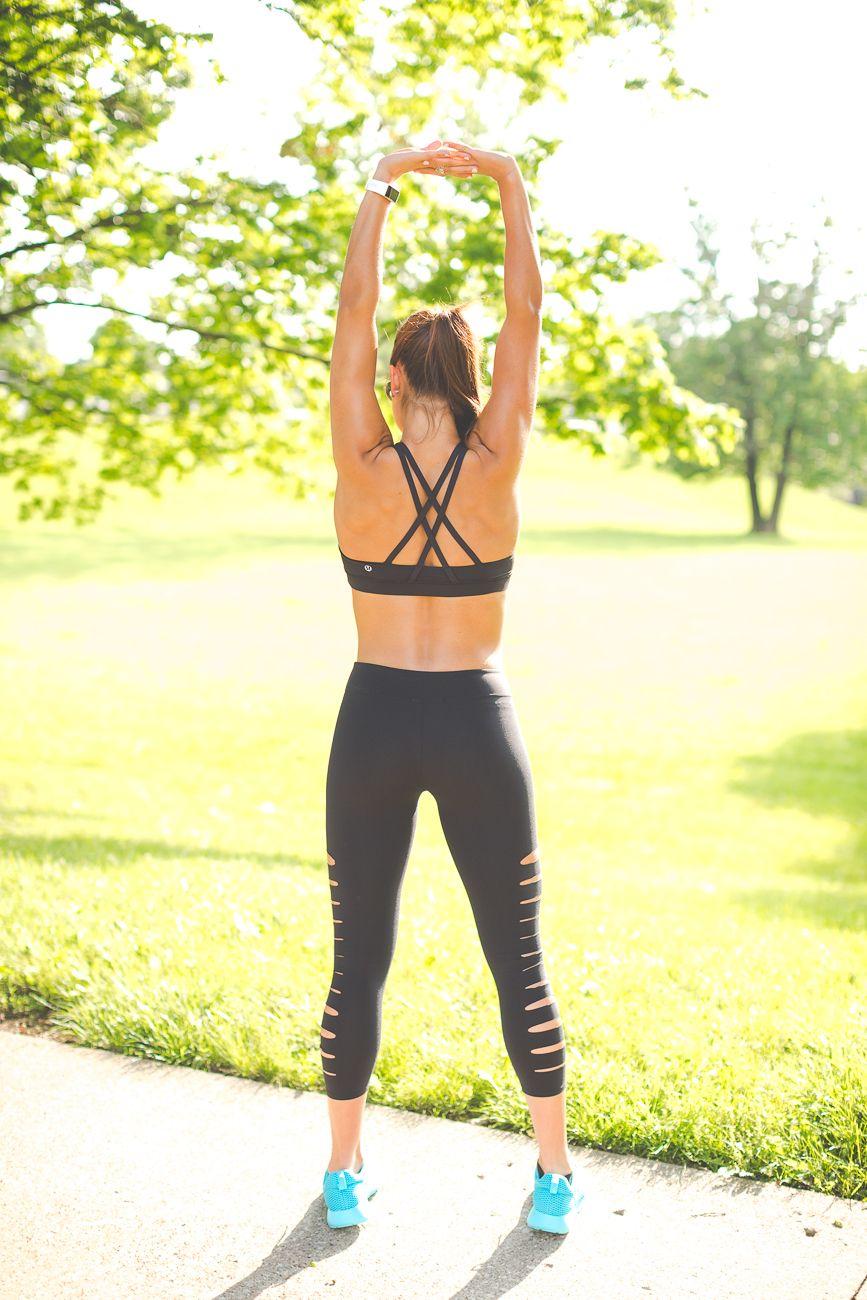 Weekly Workout Routine: Lasercut Leggings | A Southern Drawl