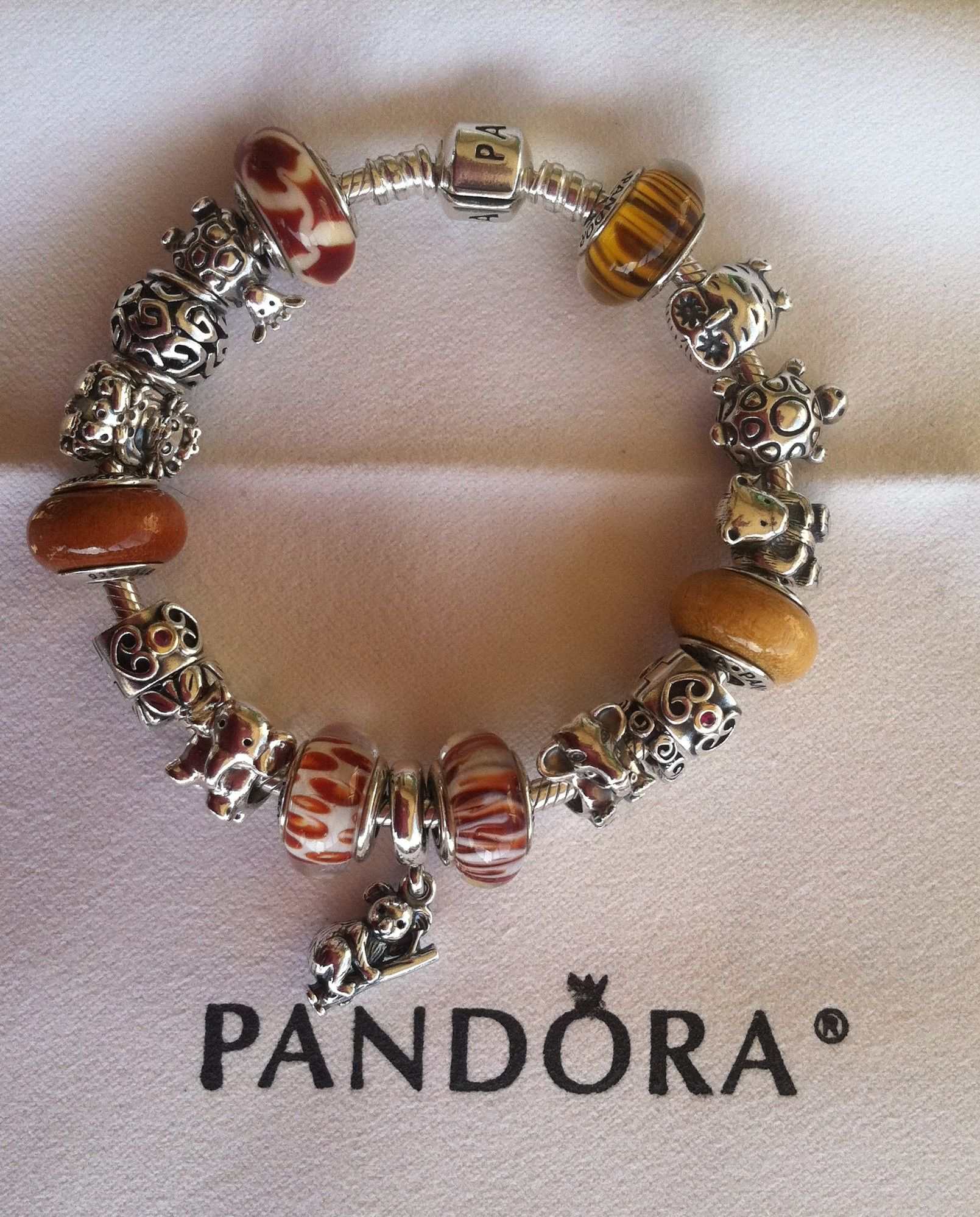 Pandora Safari Charm Bracelet