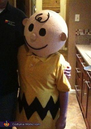 Charlie Brown, homemade Halloween costume