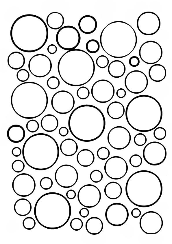 Top 25 Circle Coloring Pages For Your Toddler Geometric Coloring