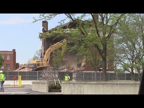 Elks building demolition in downtown Findlay | Courier News