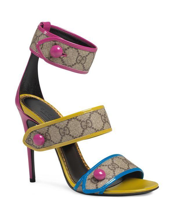 ad52da3c2014 Gucci Harleth Ankle Strap Sandals