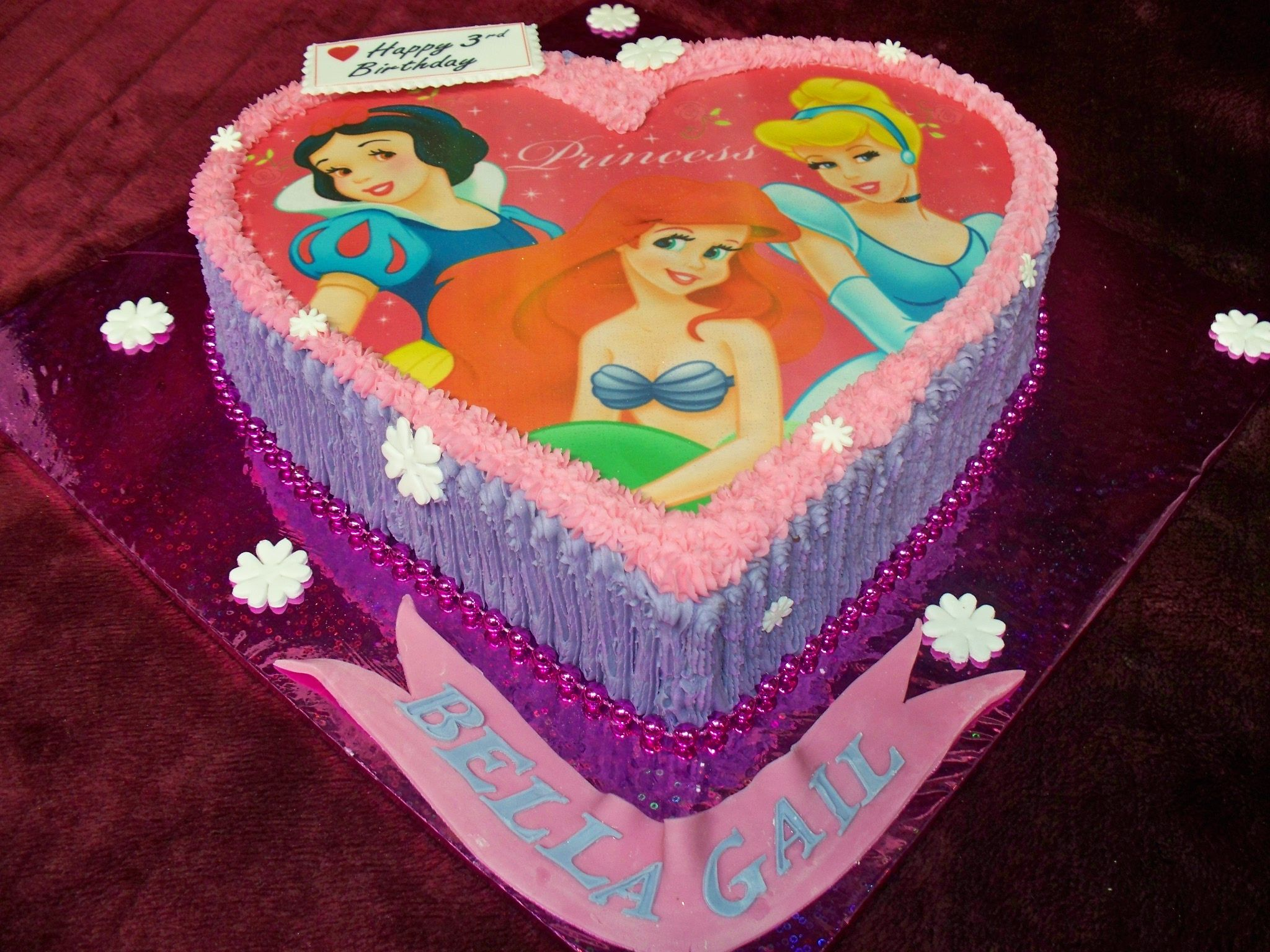 Disney Princess Birthday cake Auckland New Zealand FRESCO FOODS
