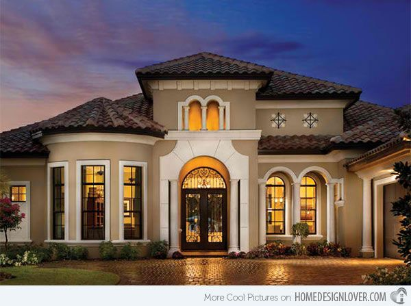 15 sophisticated and classy mediterranean house designs - Designs For Homes