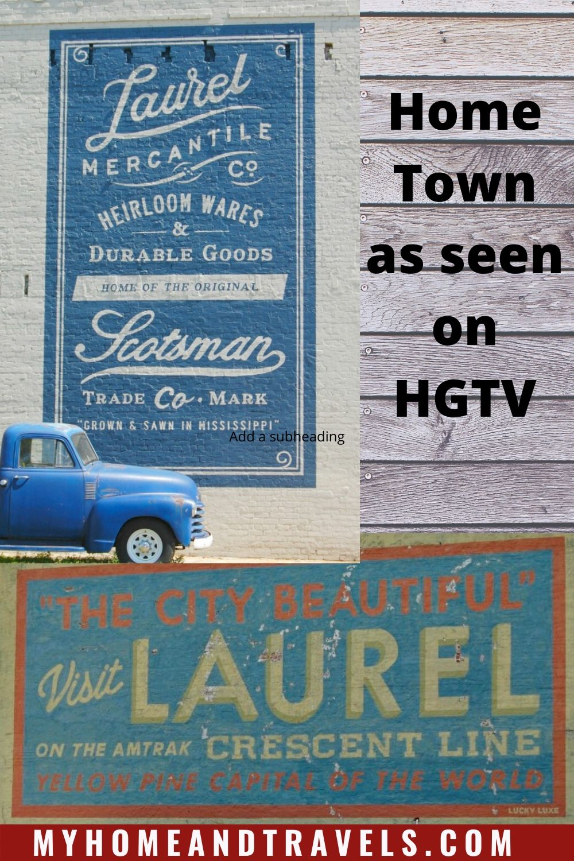 HomeTown Laurel, MS in 2020 Home town hgtv, Family