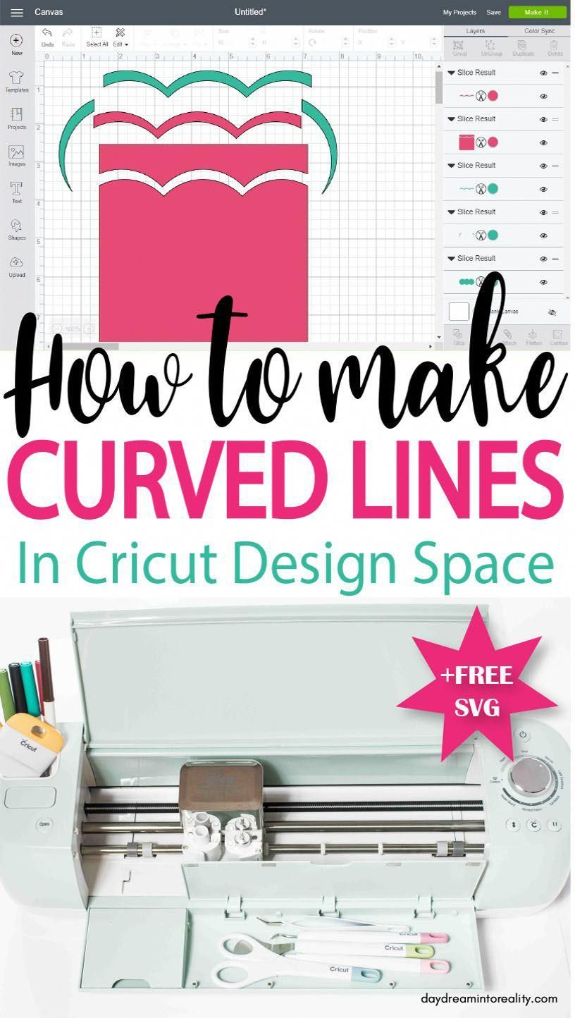 Learn how to make Curved Lines In Cricut Design Space #cricut #cricutexplore #cricutmade #cricutmaterials   Would you like to increase the risk for pendants which might be obtained to be at home in addition to jobs with your own individual mind and even design and style your main inspiration as a result of activating individuals? You can actually generate countless pad examples in various sizes and eve... #cricut #cricut projects to sell #Curved #Curvy #Design #free #line #Lines #Space #SVG