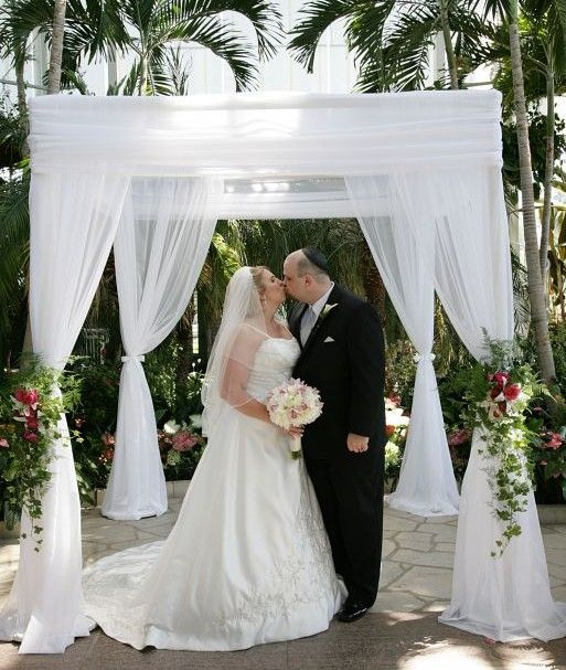 Ceremony And Reception Under Tent: Need Inspiration For Wedding Canopy/chuppah