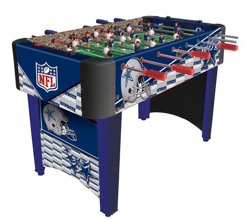 Nfl licensed foosball tables nfl dallas cowboys dallas