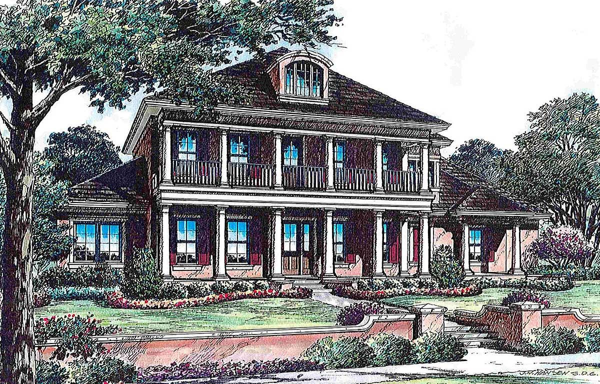 Architectural Designs Colonial House Plans House Plans Colonial Style Homes
