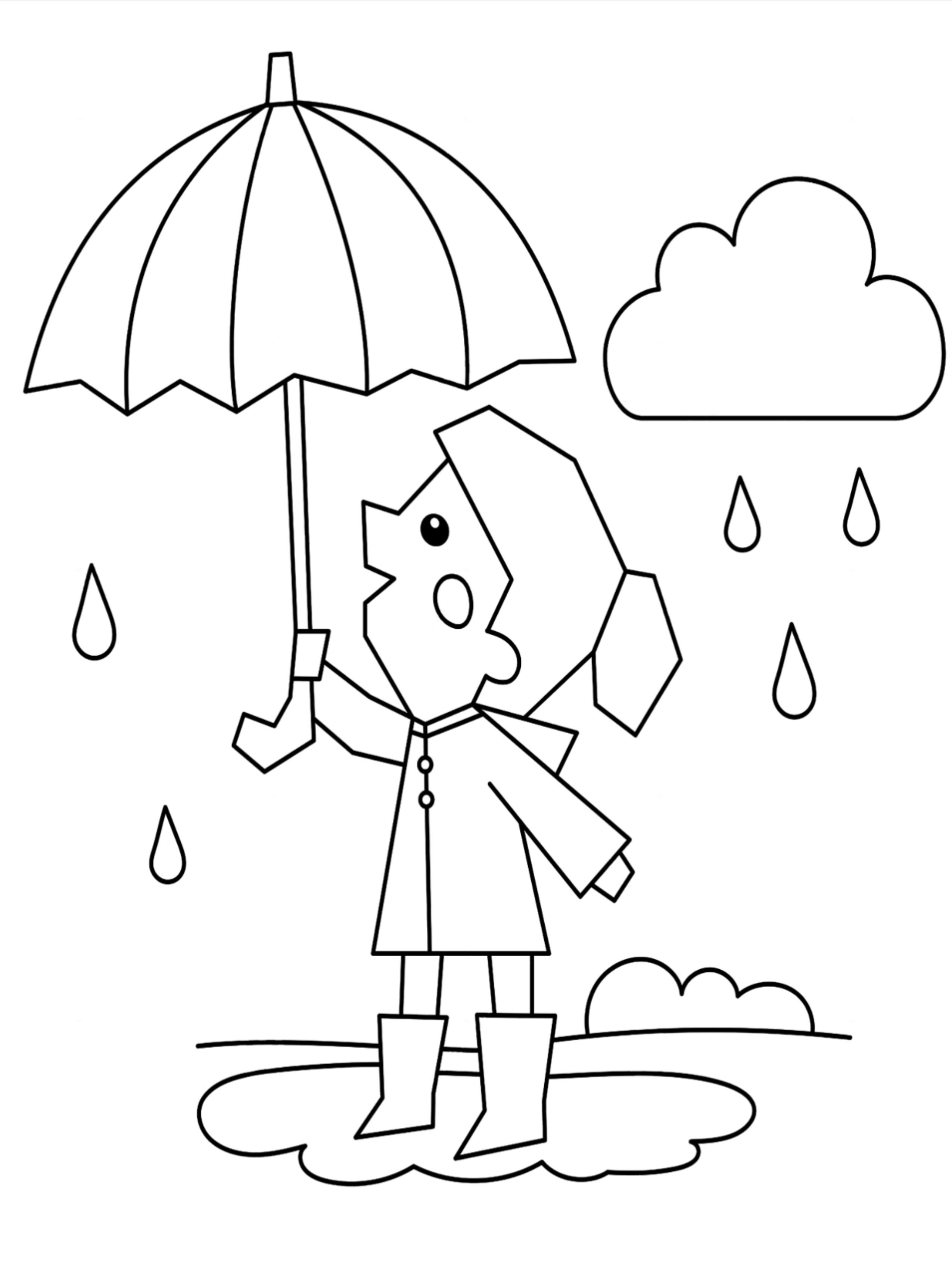 50 Weather Coloring Pages For Kids