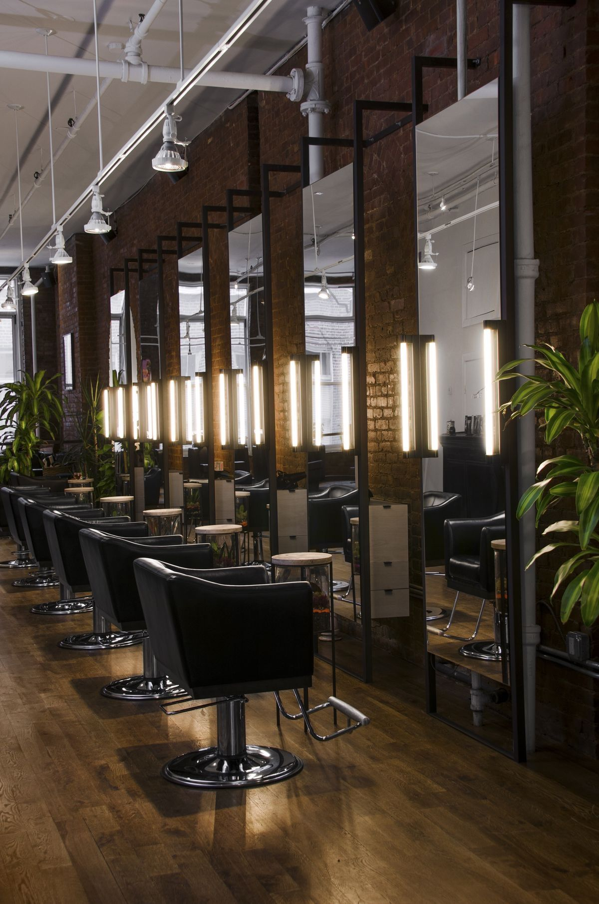 Salon Lighting Hair Decor
