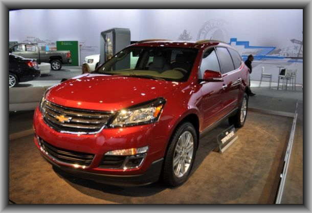 2015 Chevy Traverse Waiting For 2016 Change Although Mine Is