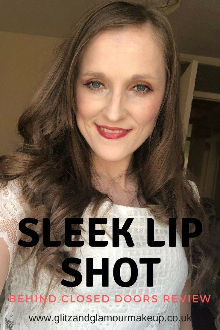 Sleek Lip Shot lip gloss review Glamour makeup, Lips