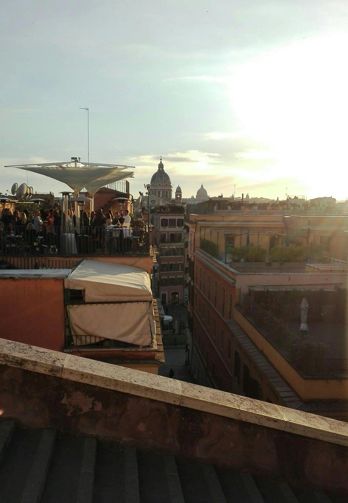Roma Trinità dei Monti Aperitivo in terrazza (con immagini