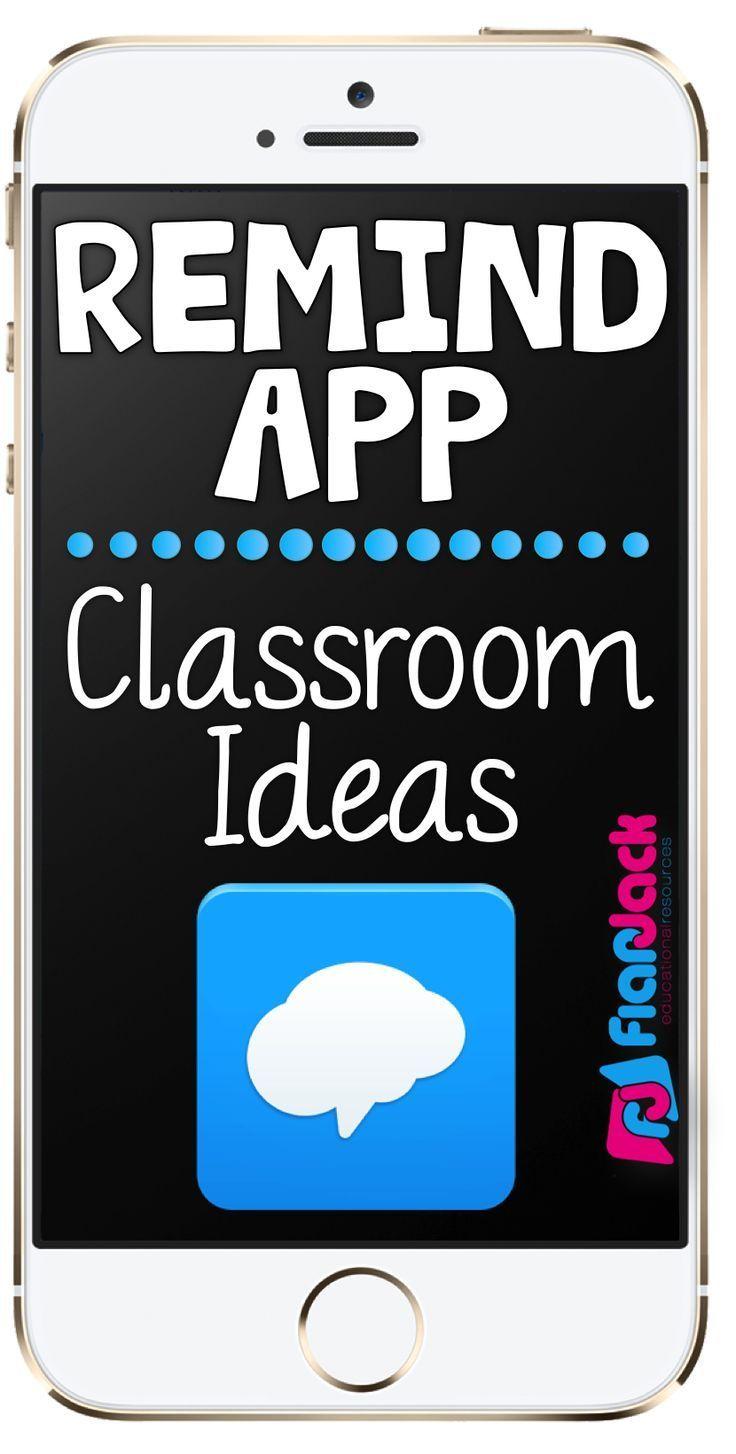 Remind App Classroom Ideas Parents as teachers, Parent