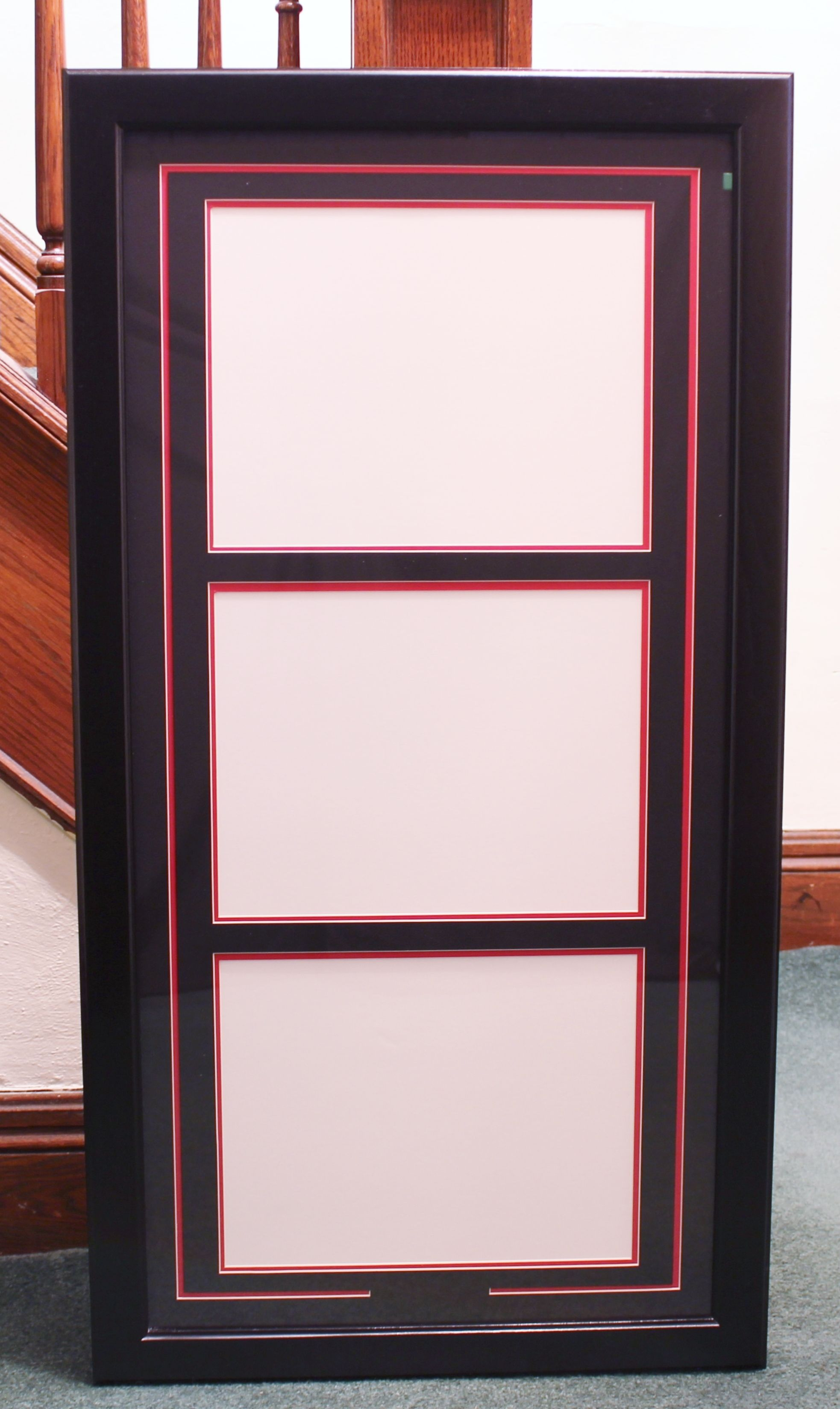 Triple diploma frames are not as popular, but I do get a request for ...