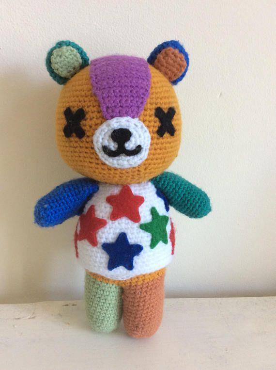Stitches Animal Crossing Crochet Plush Animal Crossing Plush