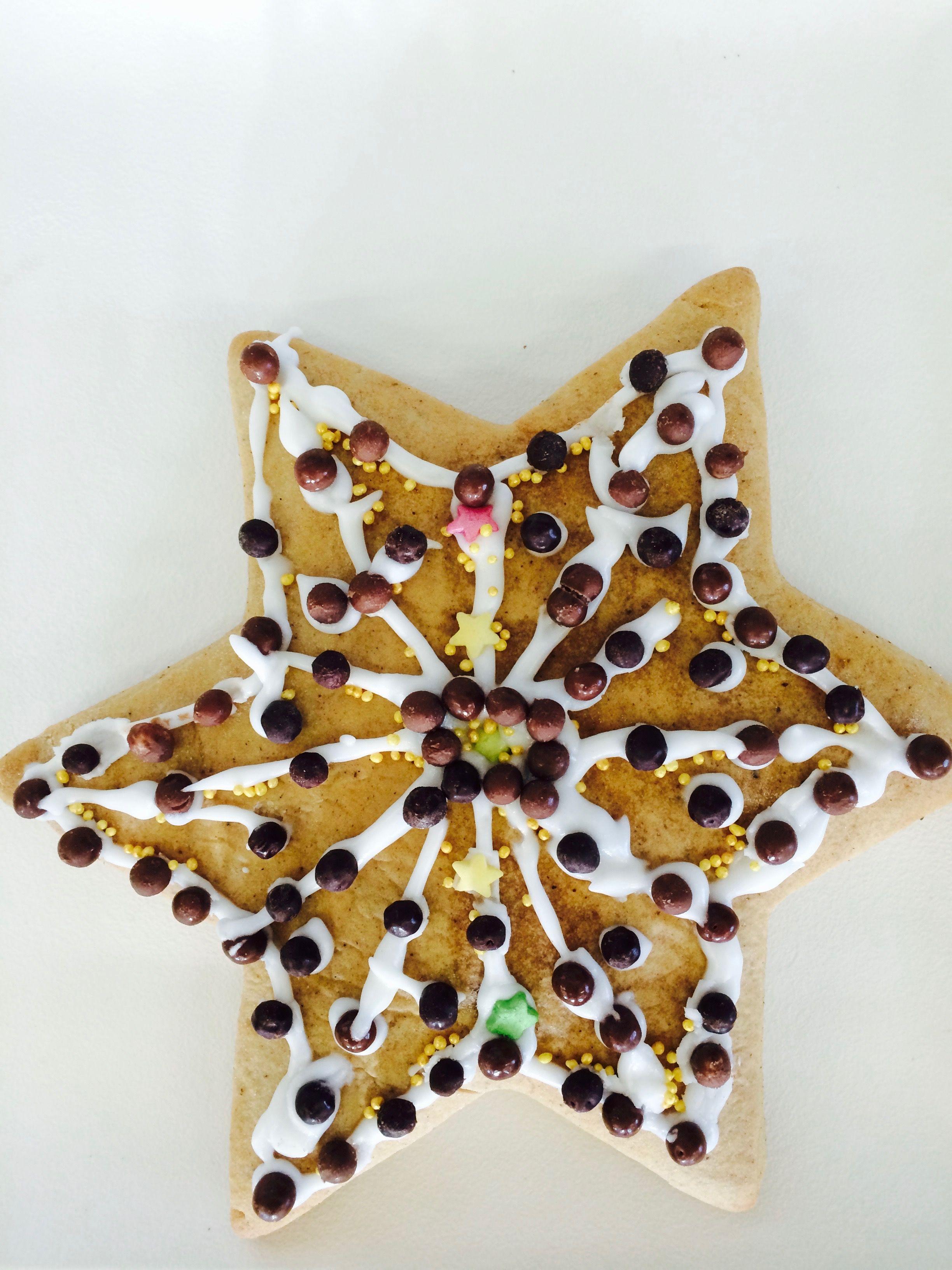 Sternenlebkuchen Filigran