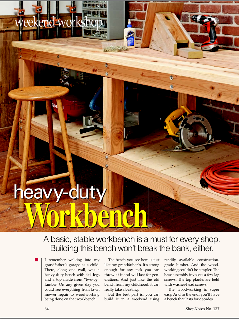 Pin By My Info On Woodworking Simple Workbench Plans Workbench