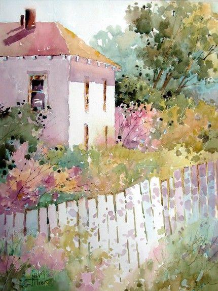 Watercolor Cottage England Cerca Amb Google Acuarela 5