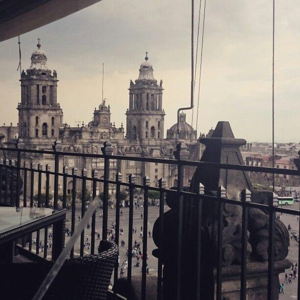 Restaurante Terraza Del Gran Hotel De La Ciudad De Mexico Big Ben Landmarks Building