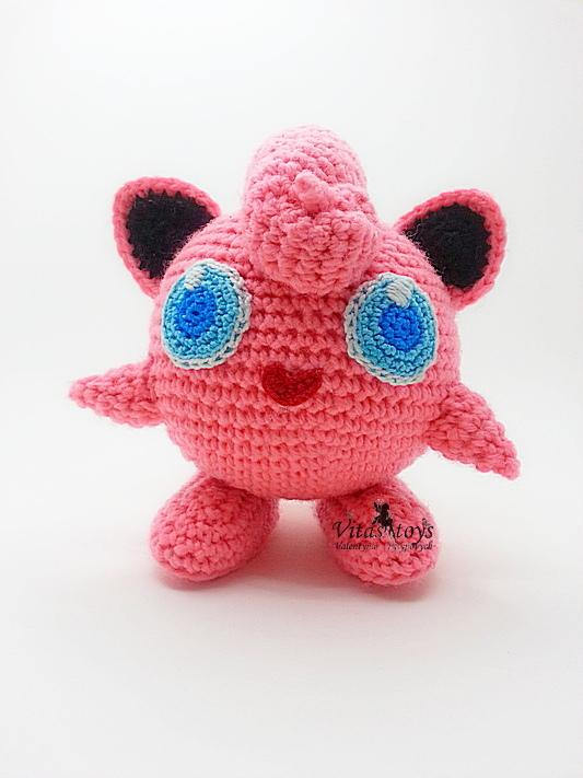 Crochet Pattern of Jigglypuff from Pokemon Amigurumi tutorial PDF ...