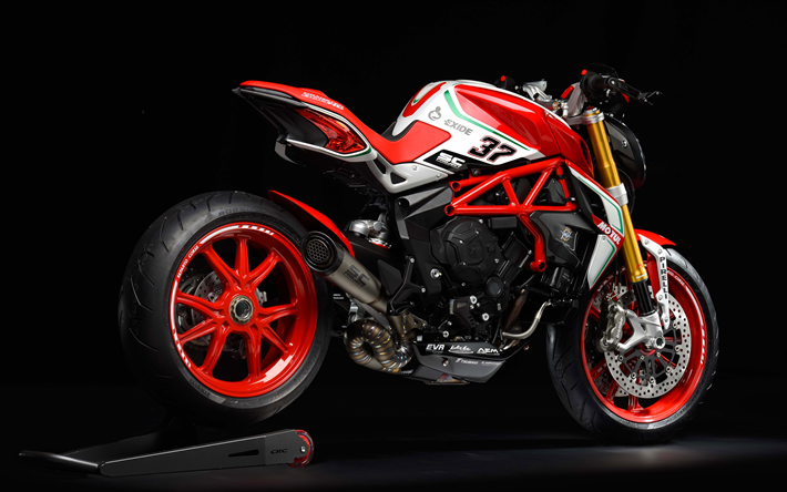 Download Wallpapers MV Agusta Dragster 800 RC, 4k