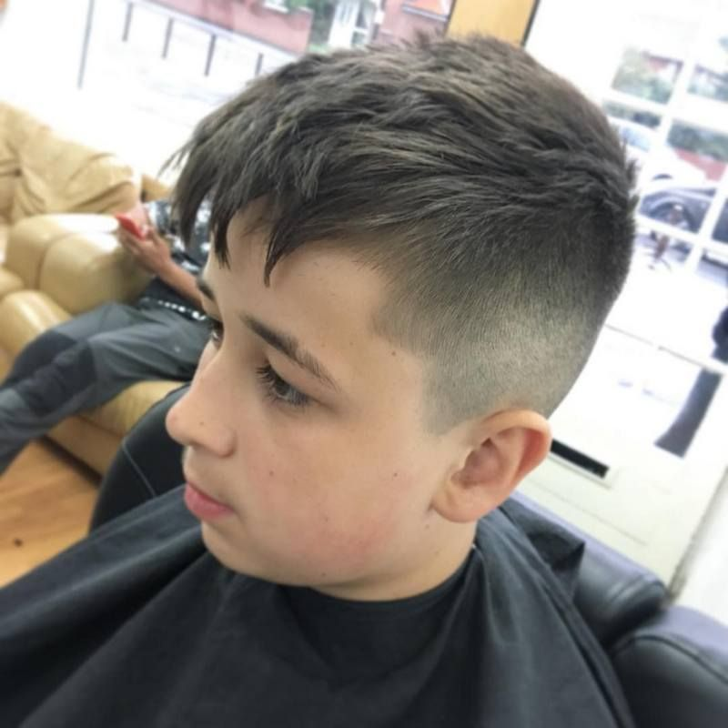 Give Your Little Boy A New Look With An Attractive Haircut This Admirable Hairstyle Will Completely Ch Boy Hairstyles Cute Hairstyles For Kids Kids Hairstyles