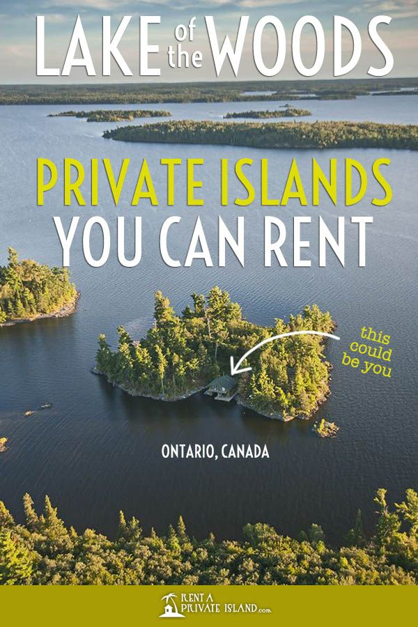 6 Lake of the Woods resorts on private islands you can rent