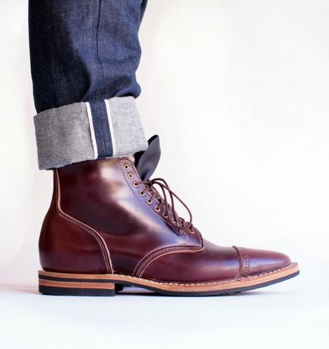 0829a37d643 Viberg Shell Cordovan service boot, we won't pin too many men's ...