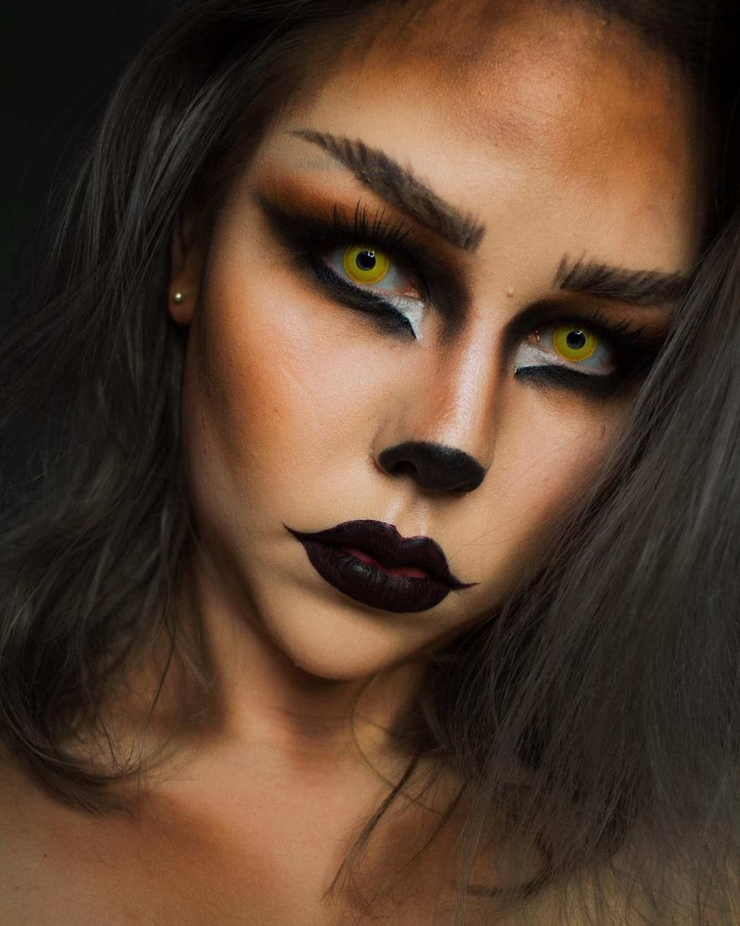 Werwolf Kostum Damen.Werwolf Kostum Google Suche Werewolf Costume Women Google Search Costume Google Goo In 2020 Halloween Makeup Cute Halloween Makeup Halloween Makeup Beard