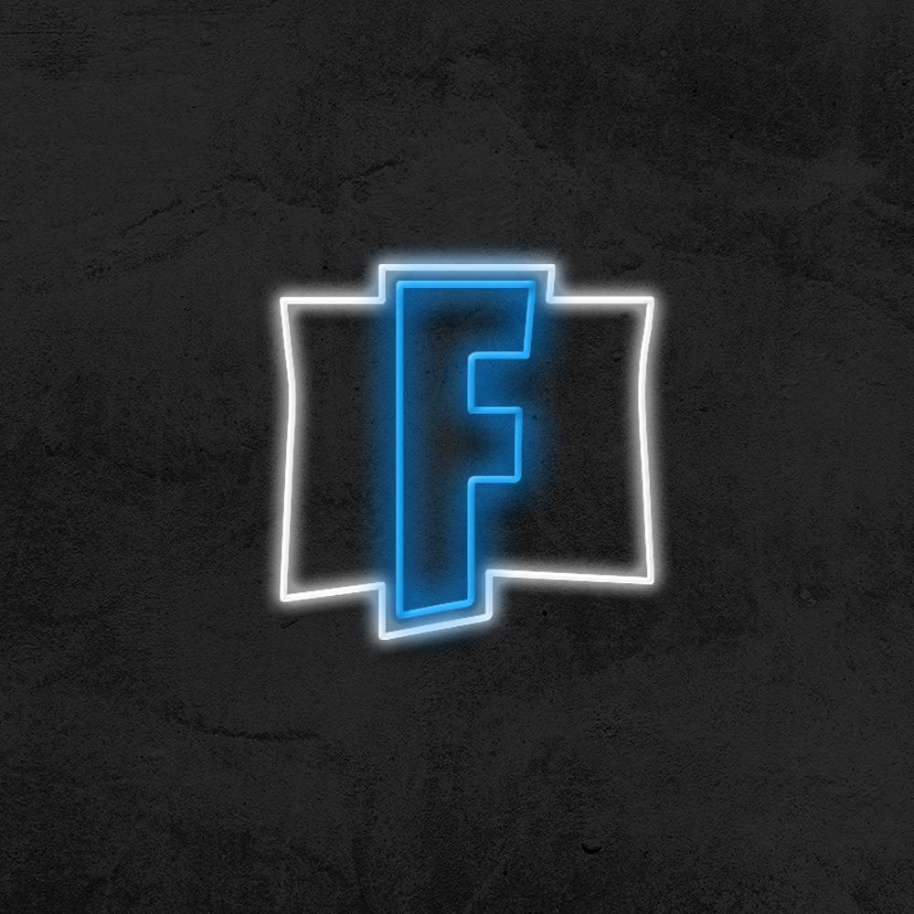 Fortnite Logo Led Neon Sign In 2020 Led Neon Signs Neon Signs Neon