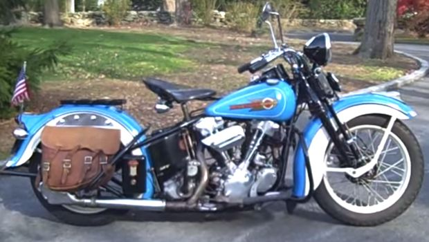 Antique 1936 Harley Davidson El