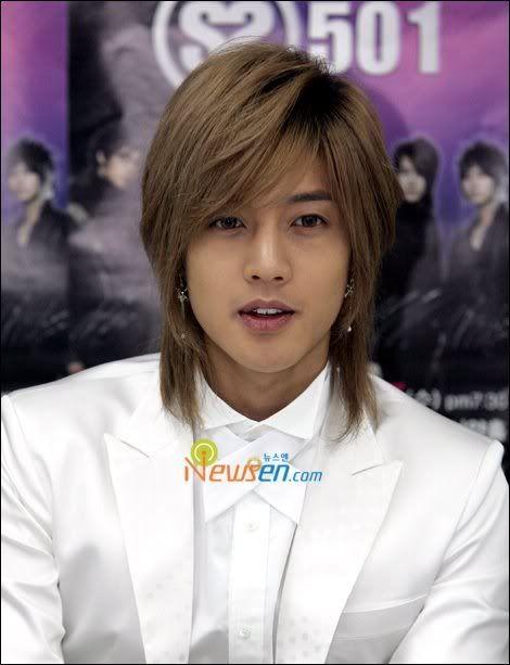 Kim Hyun Joong 김현중 ♡ long hair ♡ SS501 ♡ Kpop