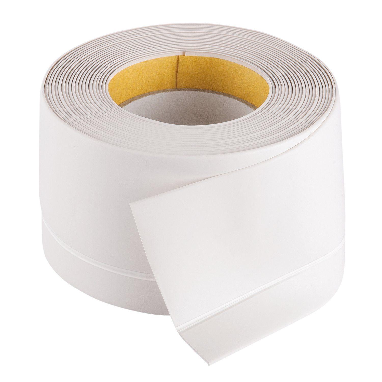 Fix O Moll Weich Sockelleiste Selbstklebend Weiss 500 Cm 5 1 5 Cm