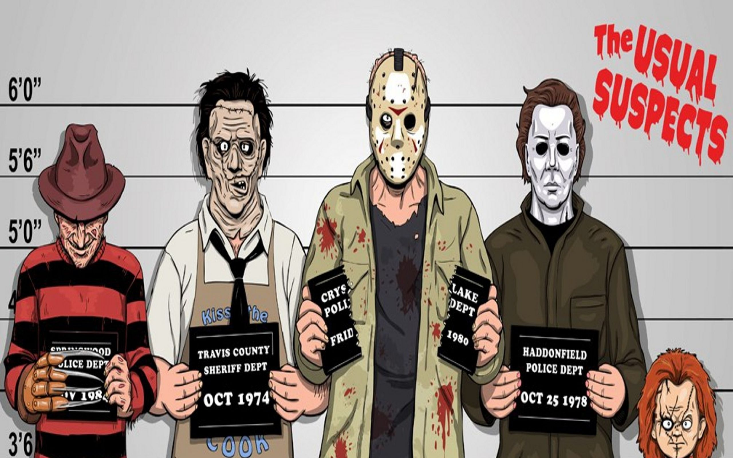 comics funny freddy krueger jason voorhees michael myers the usual